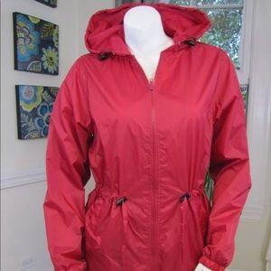 New Chadwick's Women's Red Windbreaker